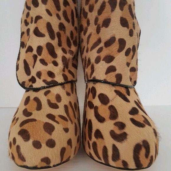 Jimmy Choo Shoes - Jimmy Choo Leopard Print Ankle Boots